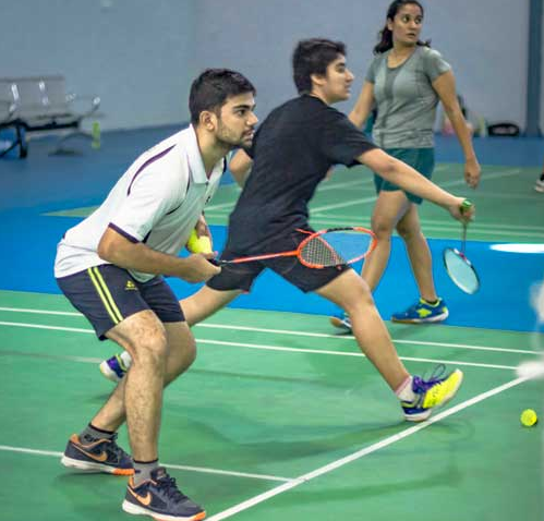 badminton coaching spuddy gurgaon