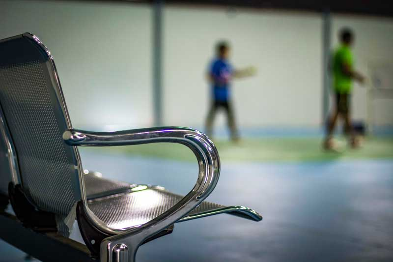 indoor badminton center
