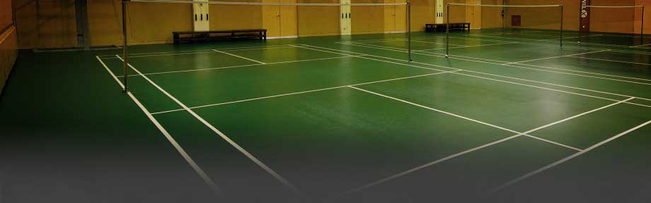 spuddy indoor badminton